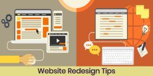 Website redesign costs